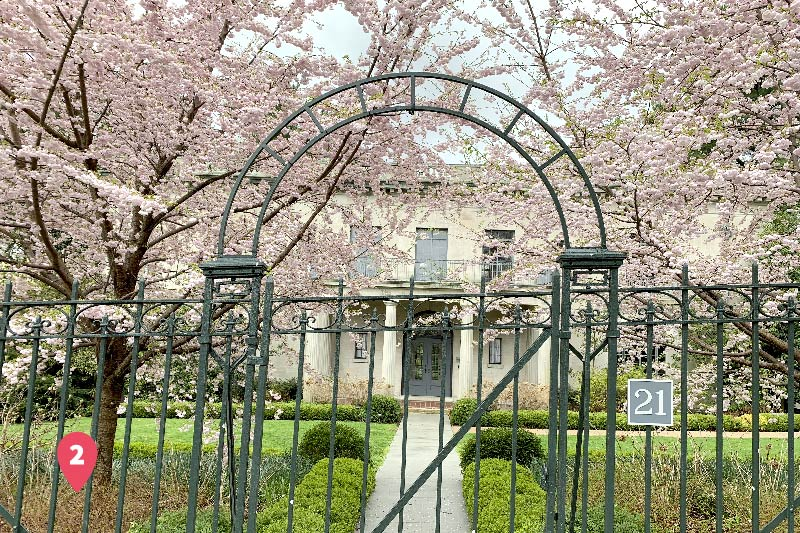 The  Montclair's Van Vleck House & Gardens