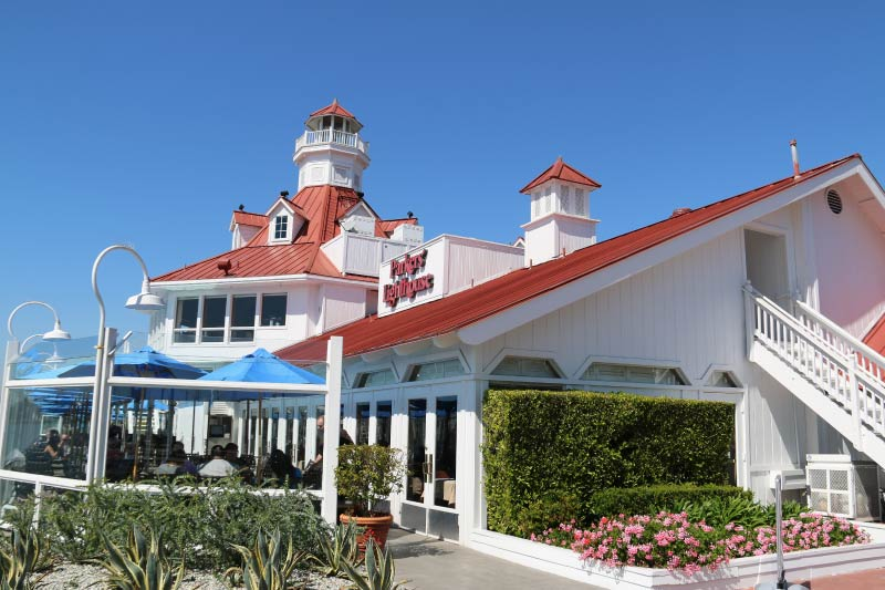 Porter's Lighthouse, a restaurant in downtown Long Beach.