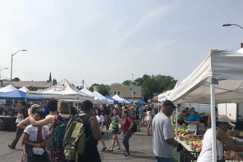 The 32nd Street Farmers Market