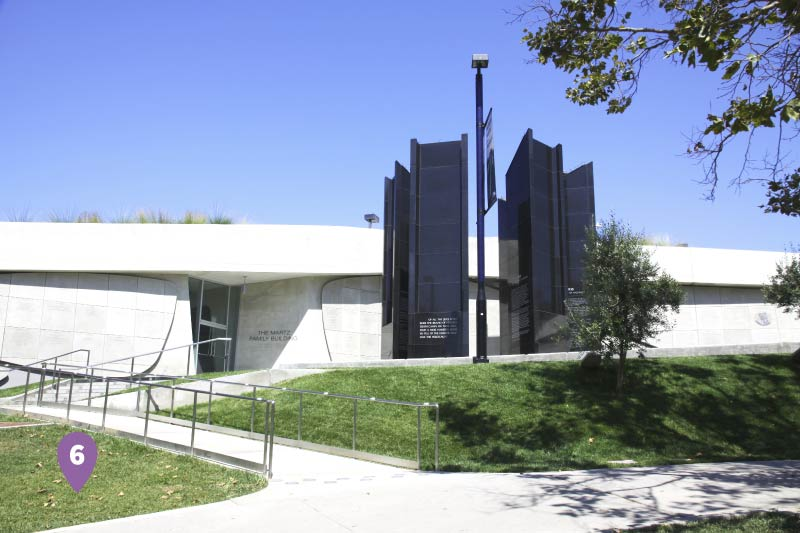 The Los Angeles Museum of the Holocaust.