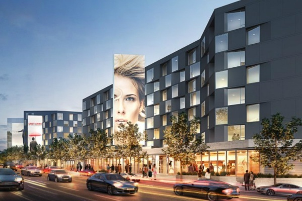 West Hollywood's 8500 Sunset Mixed-Use Project For Sale
