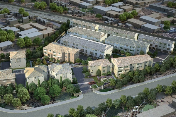 Union Walk Townhomes in Downtown El Monte Now Complete