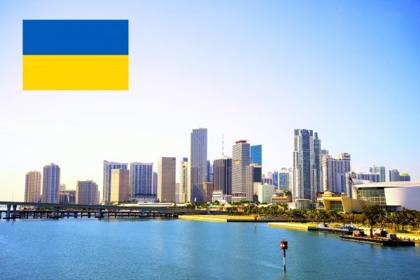 Ukraine is New Addition to Foreign Countries Interested in Miami Real Estate