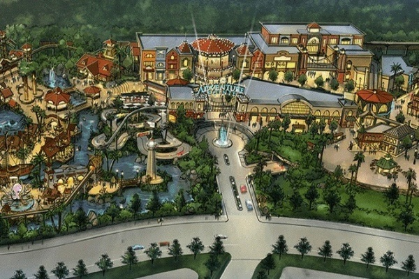 Amusement Park Planned Southeast of Houston Moving Forward