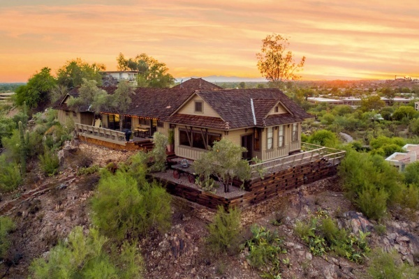 Former Railroad Depot Turned North Phoenix Hilltop Home Asks $1.05M