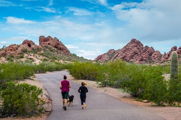 The Phoenix Area's Most Popular Running & Biking Routes