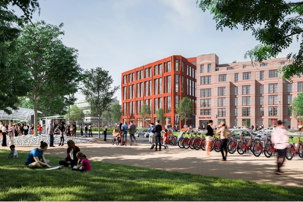 Mixed-Use Project at Former Junior High Opens in Eastern Market