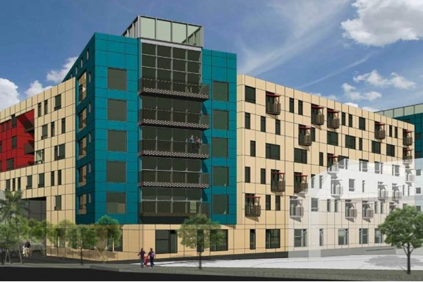 Mixed-Use Development Proposed at Olympic and Hoover in Westlake