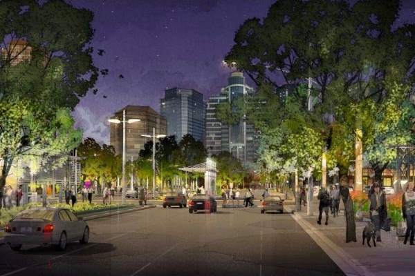 Houston's Post Oak Boulevard Getting a Completely Different Look