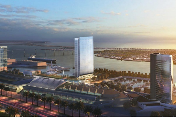 Title photo - $300M Hotel Project Threatens San Diego Convention Center Expansion