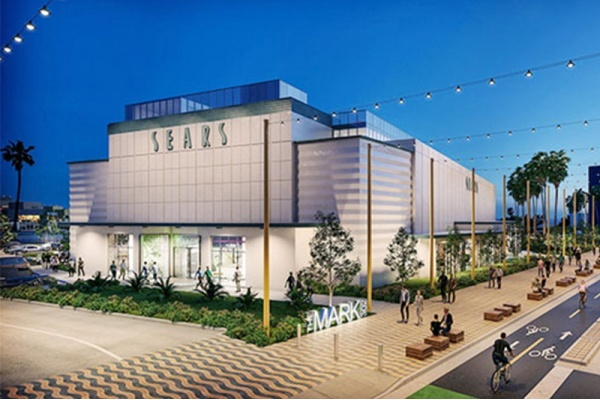 Santa Monica Sears Building Getting Seismic Roof and Beer Garden Renovation
