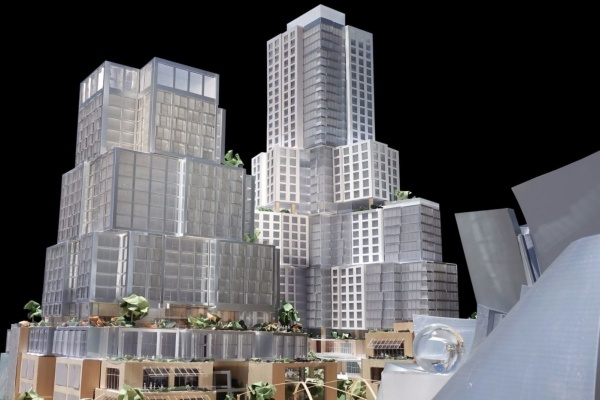 Get a Look at Frank Gehry's Grand Avenue Project Designs in DTLA