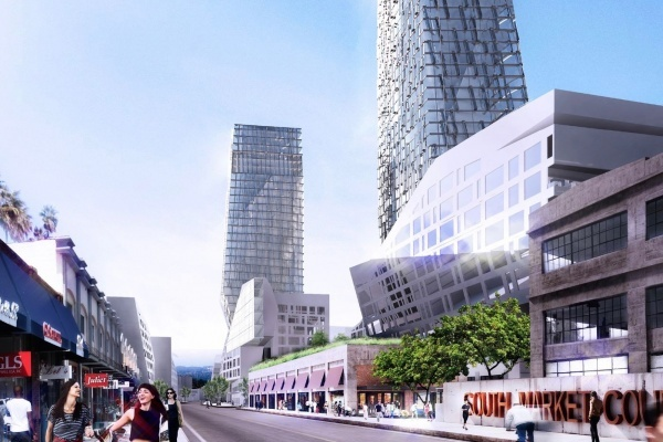 City Market Project in Fashion District Releases Extra Fresh Renderings