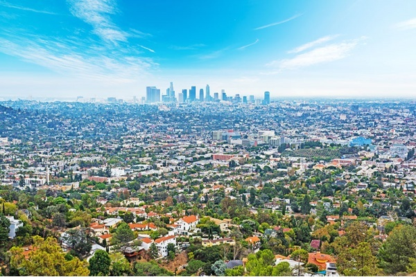 Urban Density in Southern California: Most and Least Dense Cities