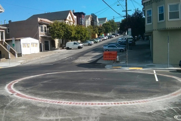 What are those mysterious brick circles in San Francisco's streets?