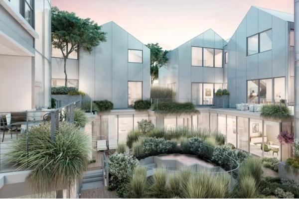 New Renderings Released for Beverly Hills 'Gardenhouse' Hilltop Village