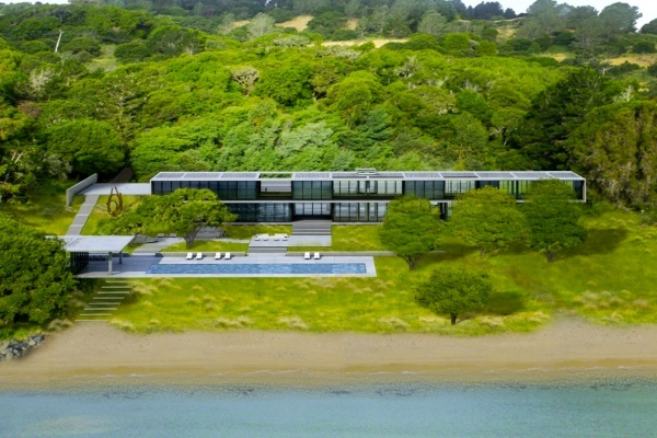 Stanley Saitowitz-Designed Tiburon Mansion Asking $35 Million