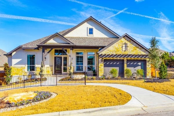 A home in Sweetwater, a master planned community outside of Austin, Texas.