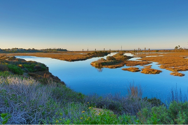 Title photo - San Elijo Lagoon Restoration Will Help Prepare for Rising Sea Levels