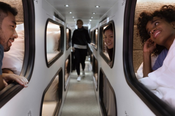 Ride This Bus With Beds Between San Francisco and Los Angeles