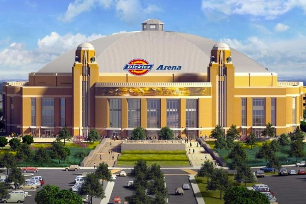 Construction Starts on $450M Dickies Arena in Fort Worth