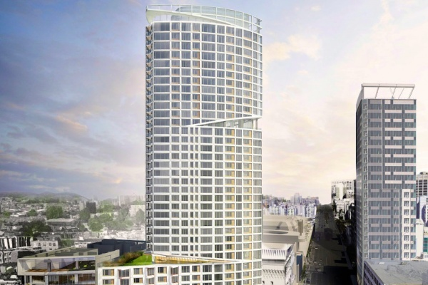One Oak Tower Adds 31 More Affordable Units to Mixed-Use Project