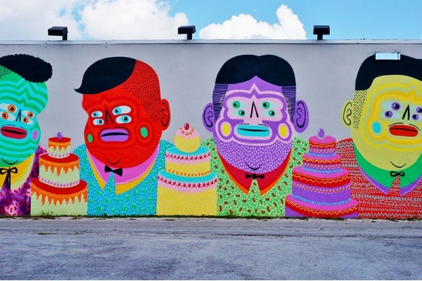A Walking Tour of Wynwood Street Art