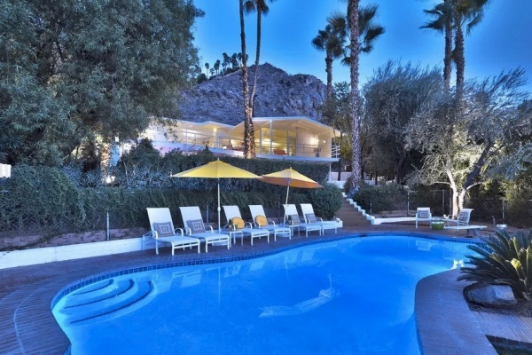 Howard Hughes' Old Palm Springs Home Asking $1.2 Million