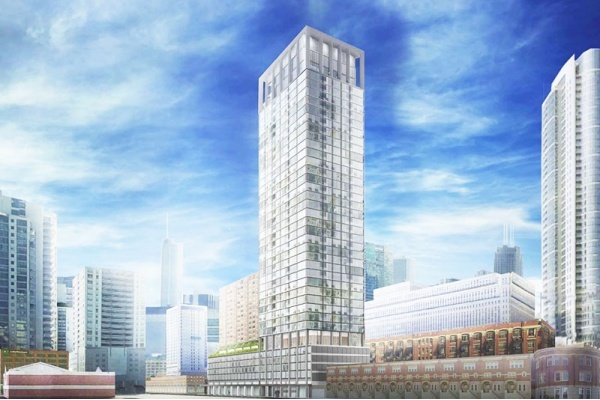 New Hotel, Skyscraper, and More: 4 River North Developments