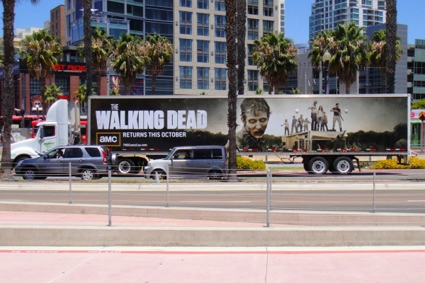 Where would the Walking Dead characters live in San Diego?