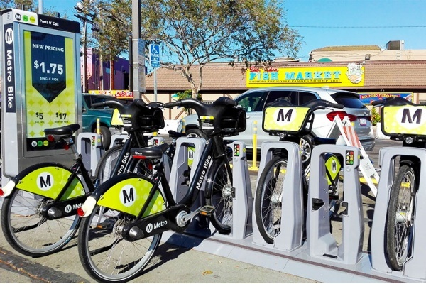 The Metro's New Bike-Share Stations Are Coming to These 5 Los Angeles Neighborhoods
