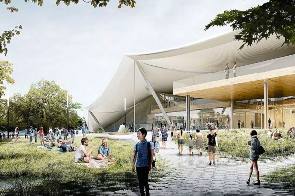 Title photo - Microsoft Unveils Plans for Mountain View Campus