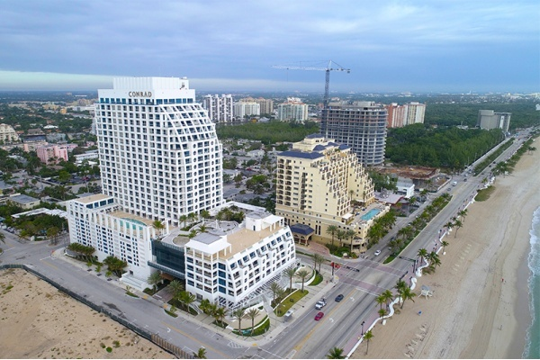 The Conrad Fort Lauderdale Beach Condo-Hotel Resort is Now Open