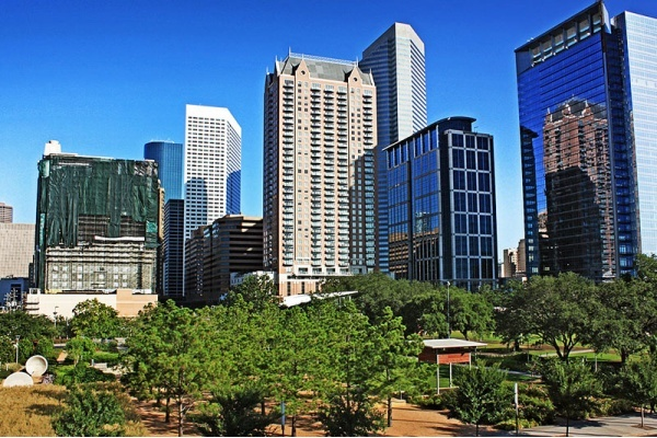 Downtown Houston is Growing With Residential Developments and Greenspace