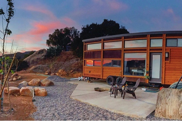 Sonoma County Fairgrounds Hosted Tiny Home Pop-Up for Wildfire Victims