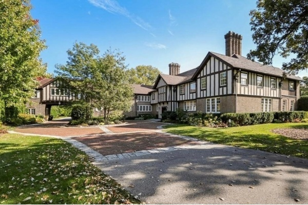 Mr. T's Lake Forest Tudor Revival Mansion Hits the Market at $7.5 Million