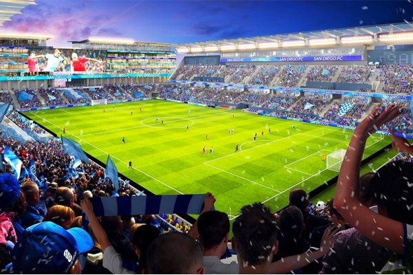 Title photo - Analysis Shows San Diego's SoccerCity Would Generate More Traffic Than Expected