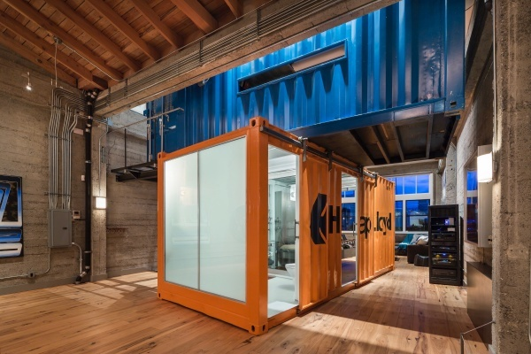 San Francisco Luxury Loft Centered Around Converted Shipping Containers Asks $4.9M