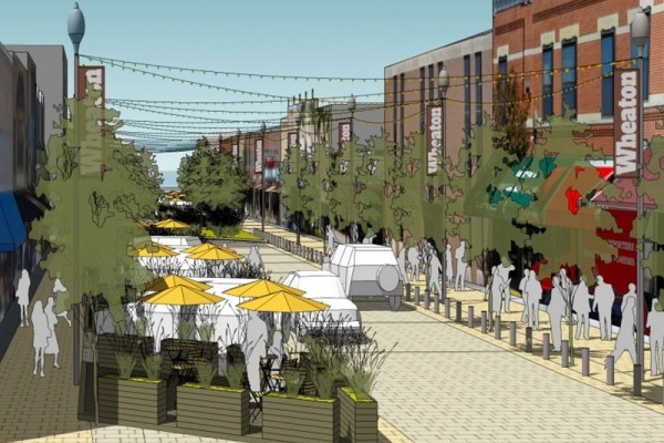 Wheaton Gains Recognition for Livability as Downtown Renaissance Gets Underway