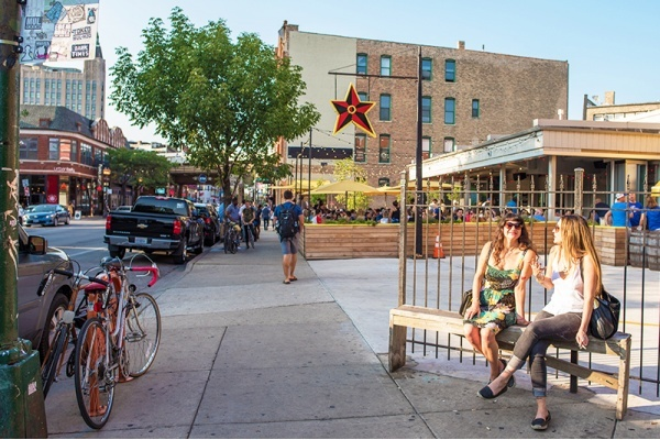 What makes Wicker Park one of the coolest Chicago neighborhoods?