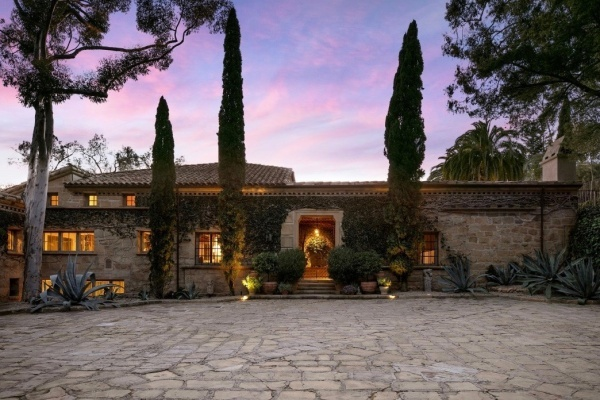 Ellen DeGeneres and Portia de Rossi Ask $45 Million for Santa Barbara Villa