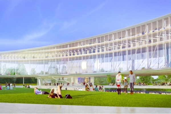 Obama Presidential Center Park Plans Get Updated With Parking