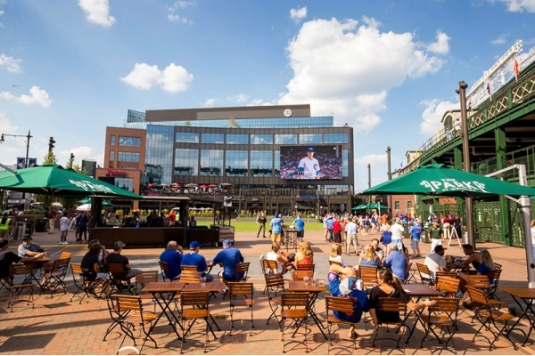 What's new in Wrigleyville? Developments you'll see this baseball season