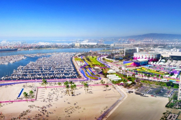 Title photo - LA 2024 Releases New Renderings for Encino and Long Beach Olympic Venues