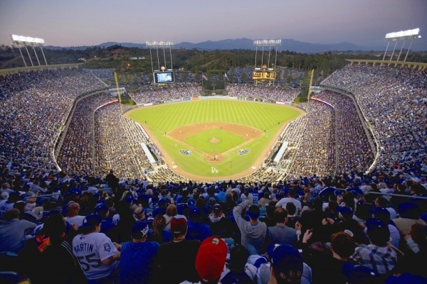 Which SoCal neighborhoods are home to the biggest Dodgers fans?