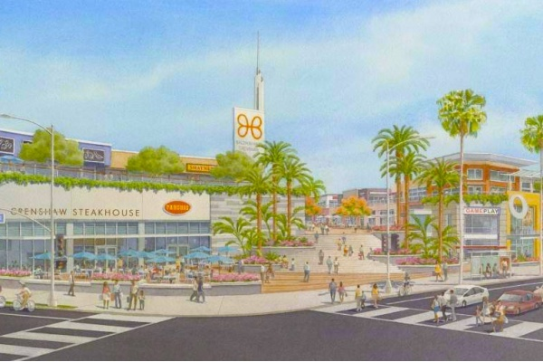 Renderings Released for Baldwin Hills Crenshaw Plaza Development