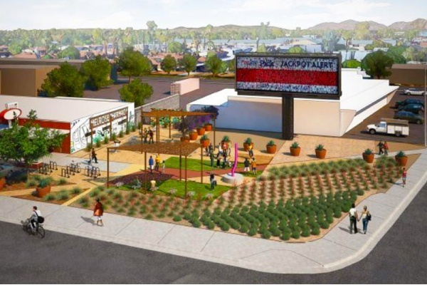 Melrose District Getting Park and Performance Space 'The Lyceum'