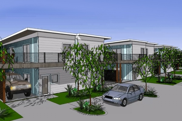 Title photo - Habitat for Humanity Gets the Greenlight in McKinney for Affordable Shipping Container