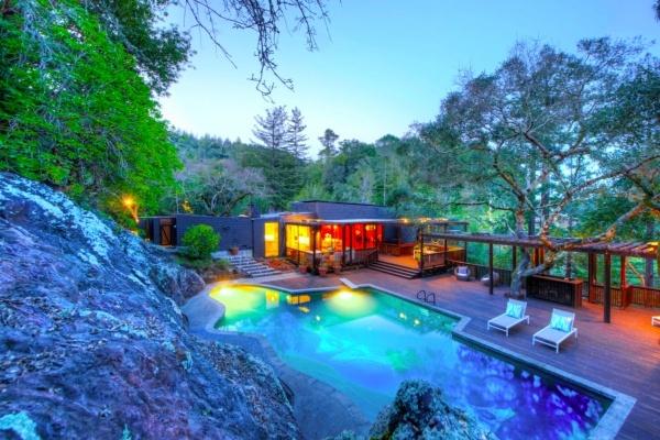 Joseph Esherick-Designed Mid-Century Home Asks $4.9M in Kentfield, CA