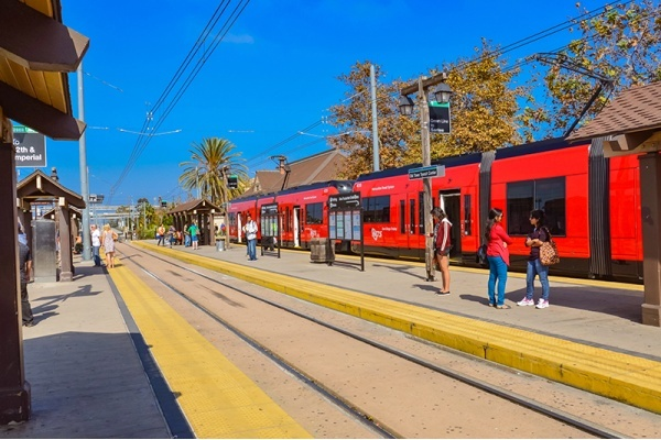 San Diego Trolley Blue Line Expansion Hits University City